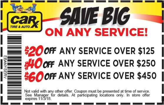 St Louis Area Auto Repair Coupons From Car X October