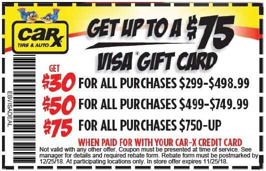 St Louis Area Auto Repair Coupons From Car X November